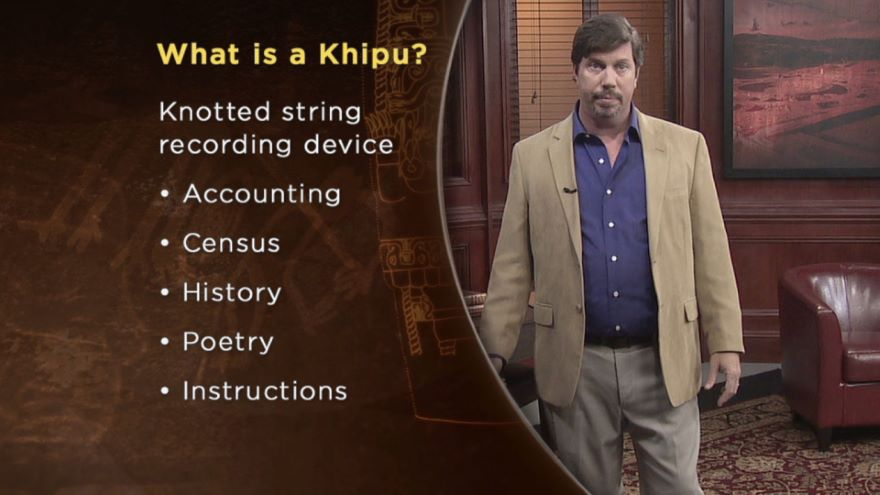 The Khipu-Language Hidden in Knots