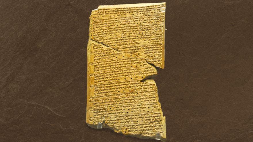 Ashurbanipal's Library and Gilgamesh