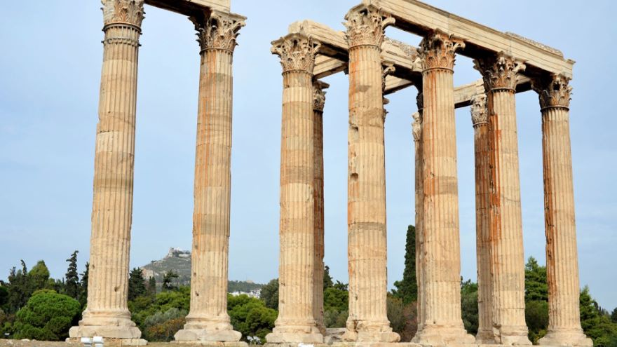 In the Footsteps of Socrates-Historic Athens