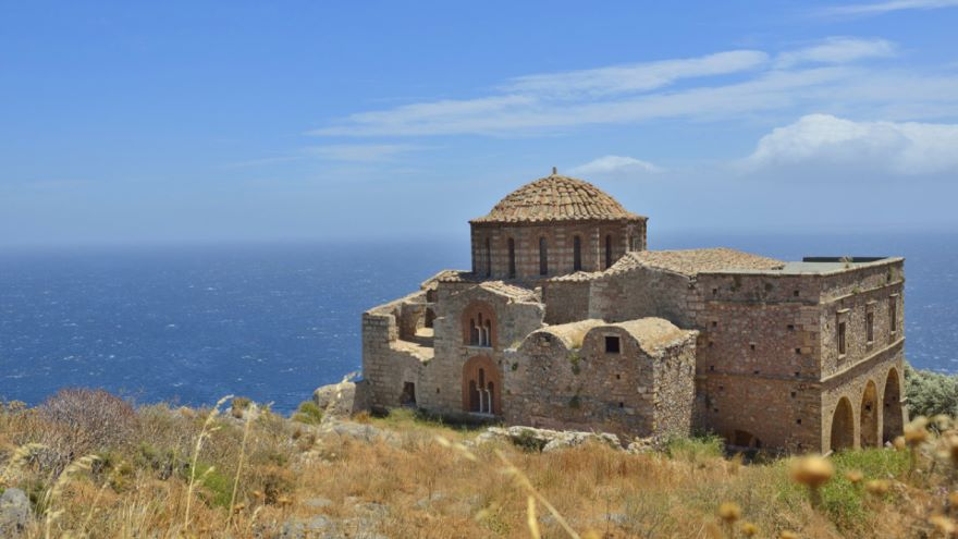 Byzantine Outposts-Monemvasia and Mistra