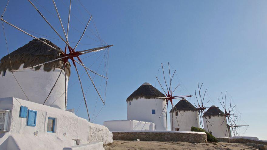 Cruising the Islands-Mykonos and Delos