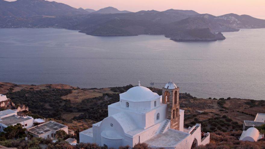 Aegean Ring of Fire-Milos and Santorini