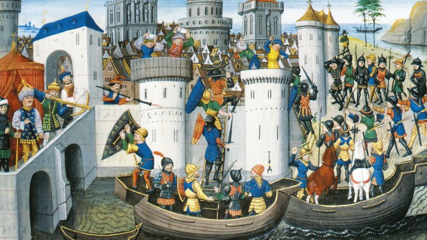 The Fourth Crusade and the Crusader States