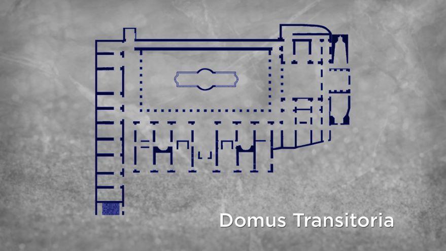 Nero's Domus Transitoria at Rome