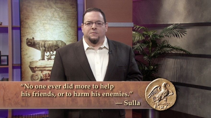 Sulla the Dictator and the Social War