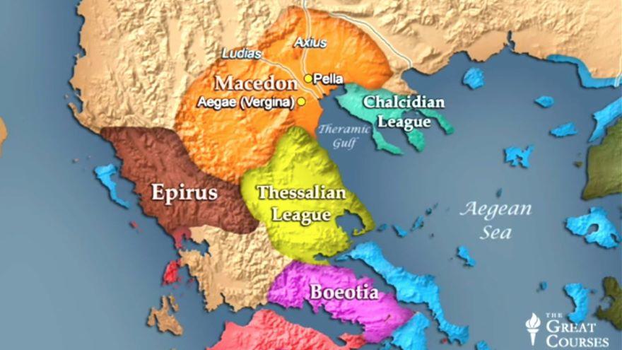 The World of Early Macedon
