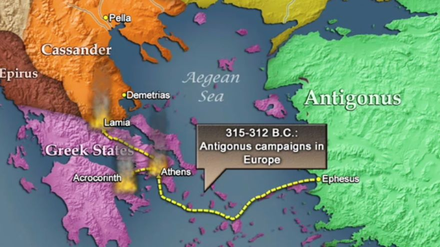 The Partition of the Empire, 316-301 B.C.