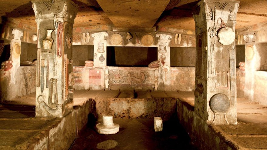 Etruscan Cities of the Dead