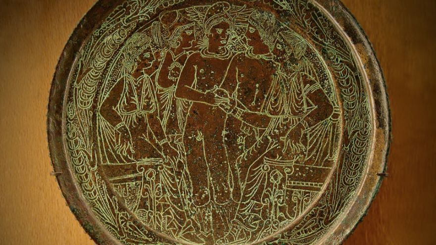 Greek Myth: Etruscan Homes