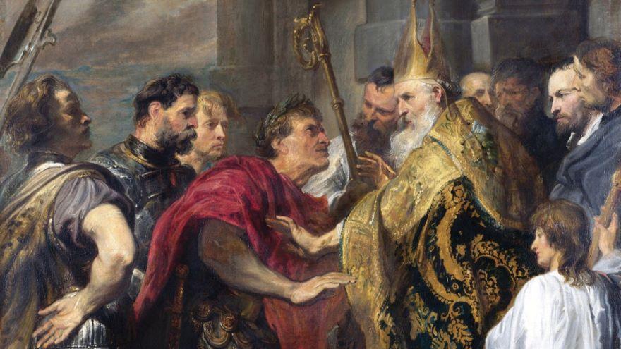 Barbarian Advances and Theodosius