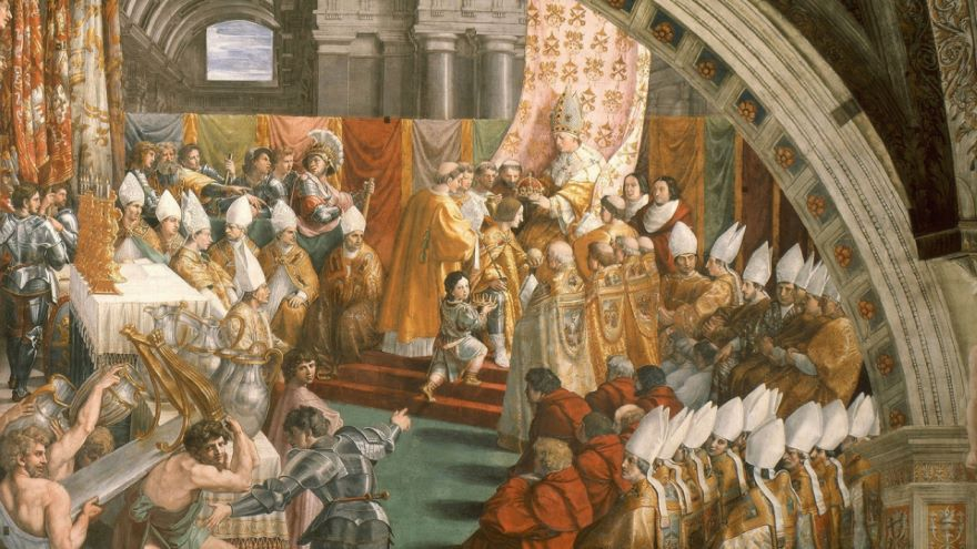 The Byzantine Empire and Charlemagne
