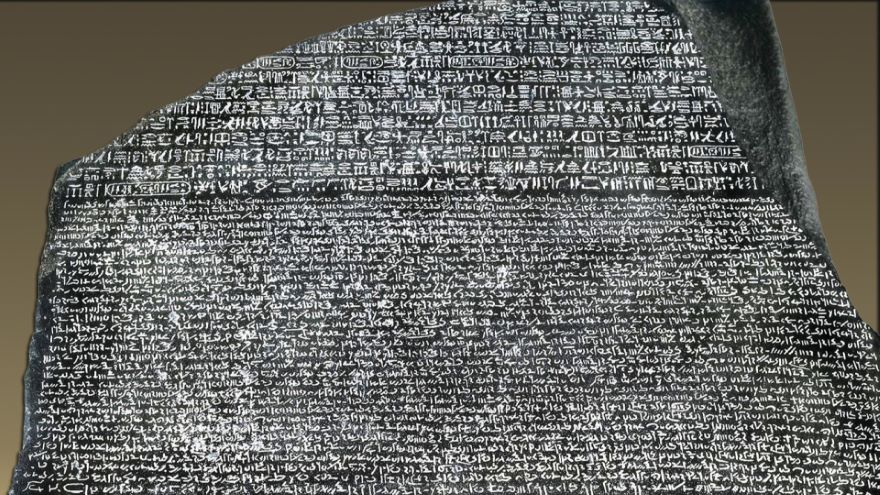 Early Attempts to Decipher the Rosetta Stone