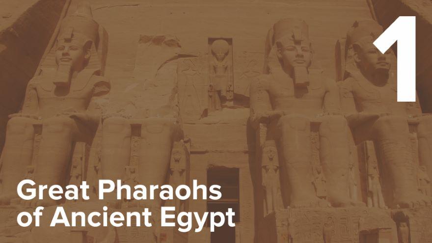 King Narmer—The Unification of Egypt