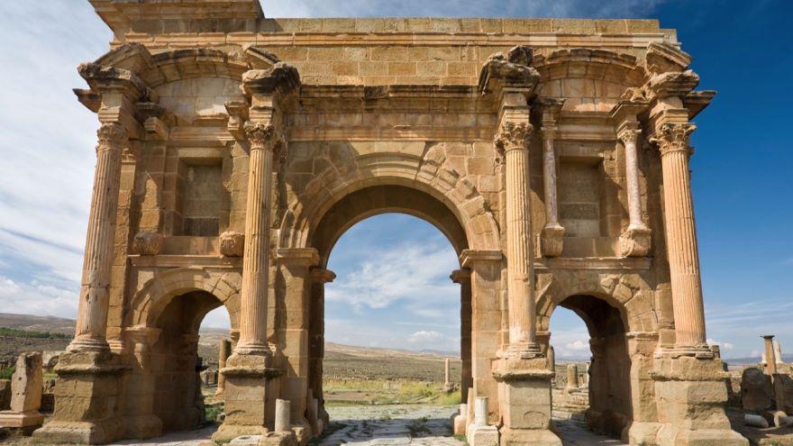 Timgad-More Roman Than Rome
