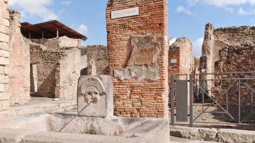 A Female Slave in Pompeii