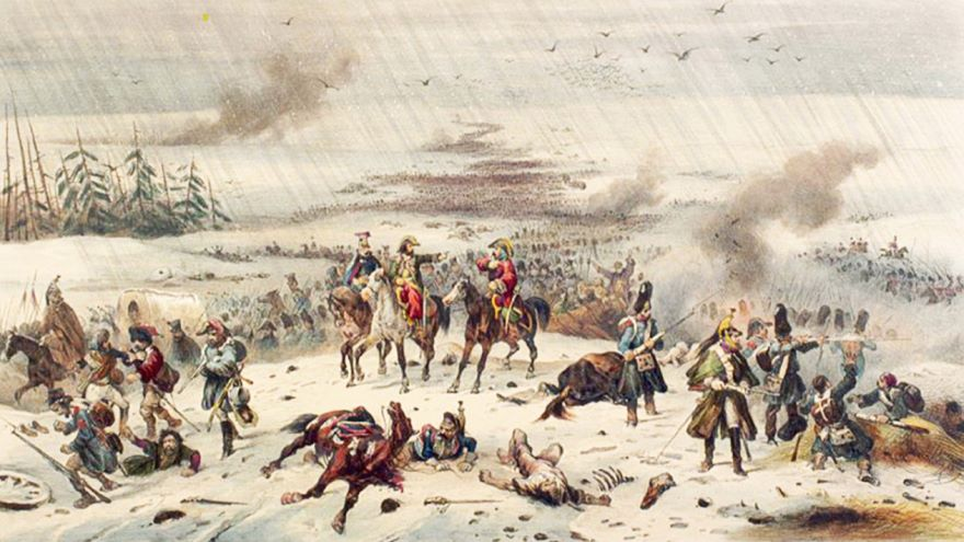 Russia: Napoleon Retreats in the Snow-1812