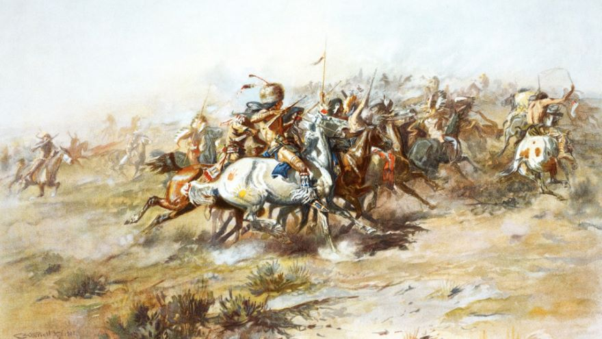 Greasy Grass: Custer's Last Stand-1876