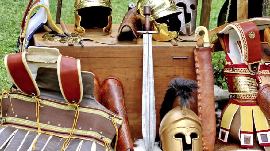 Being a Roman Soldier
