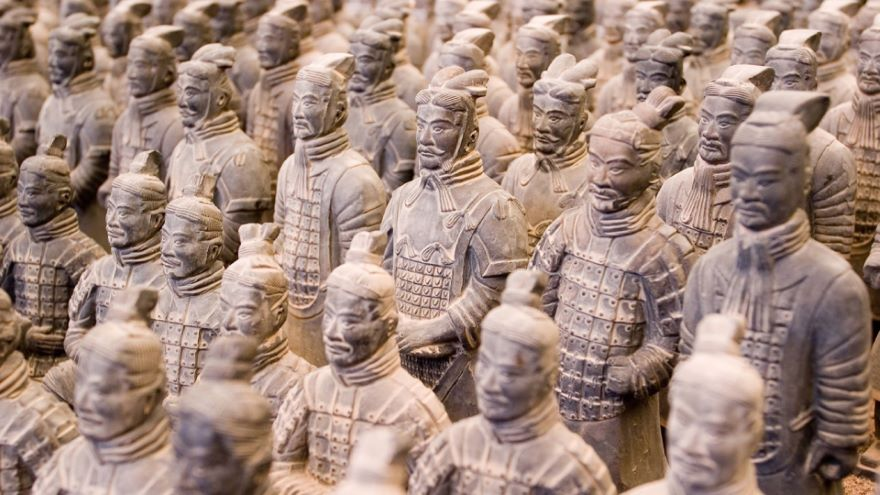 The First Emperor's Terra-cotta Warriors