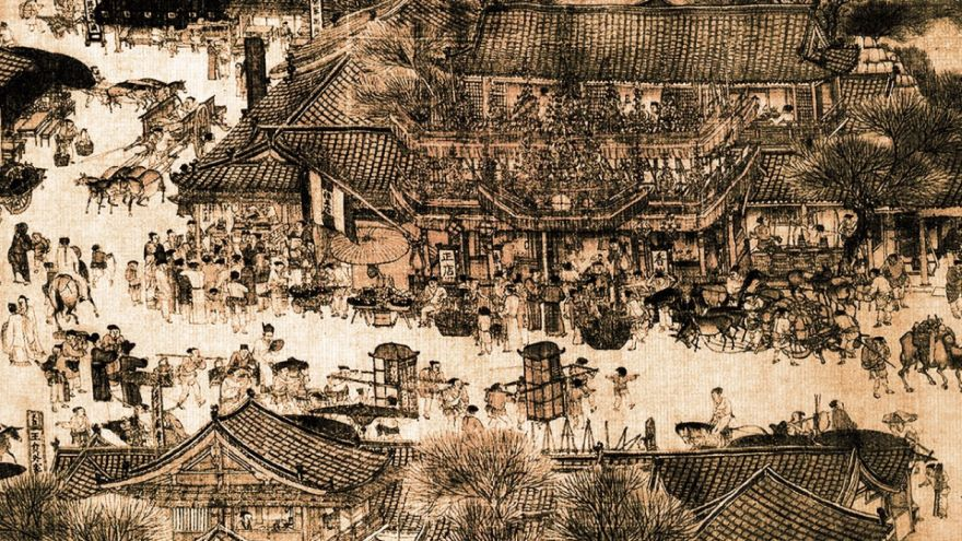 A Day's Journey Along the Qingming Scroll