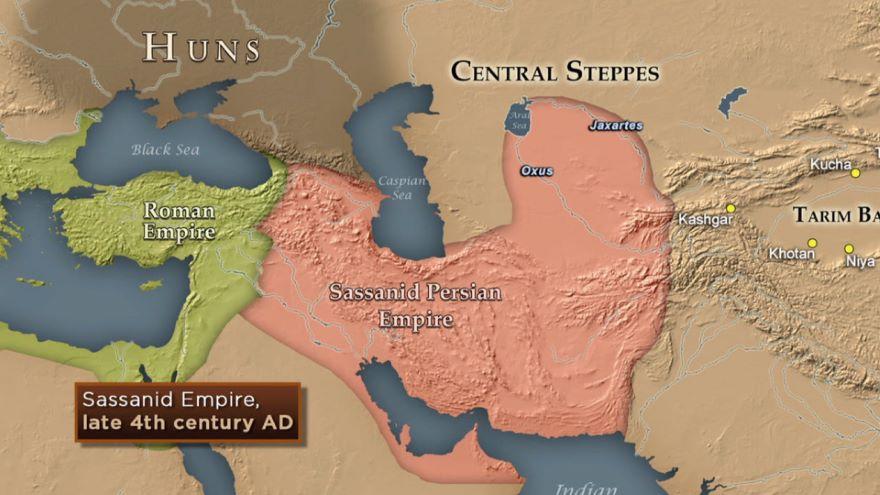 Sassanid Shahs and the Hephthalites