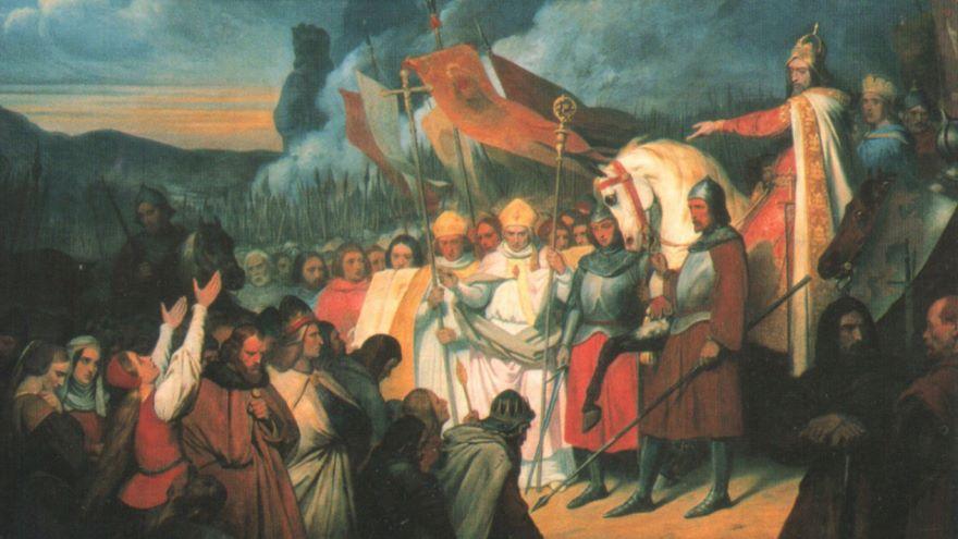 Charlemagne Saves Leo III, Rogue Pope