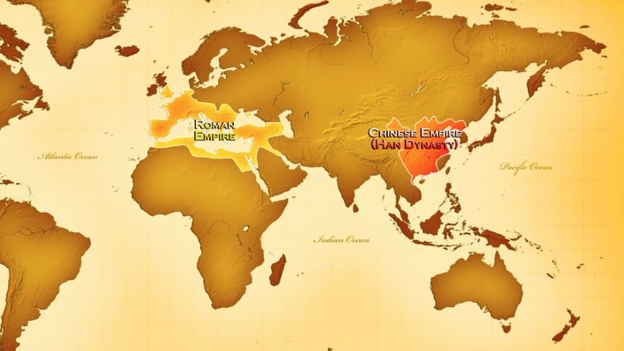Han and Roman Empires Compared-Geography