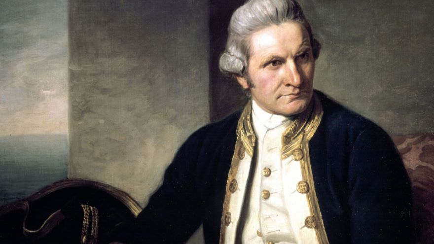 Captain Cook Maps the World