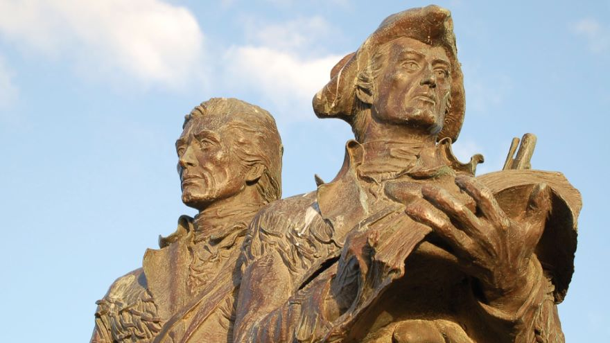 Jefferson Dispatches Lewis and Clark