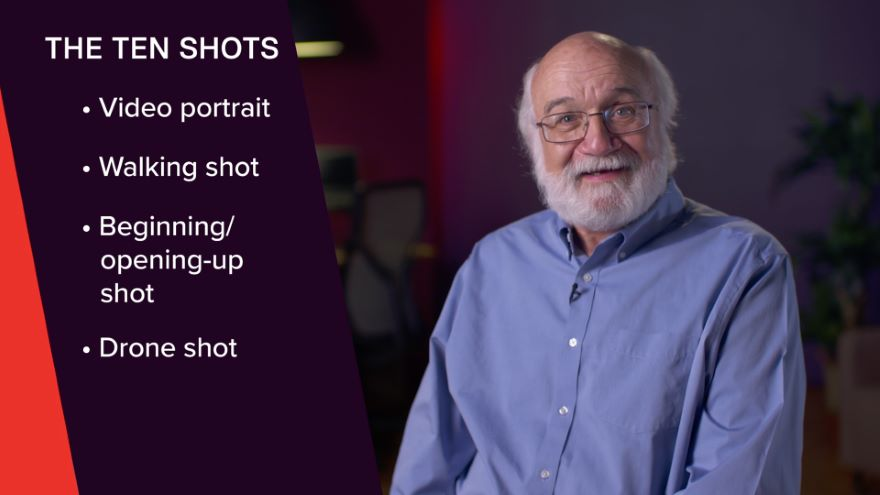 Video's Five Framings and Ten Shots