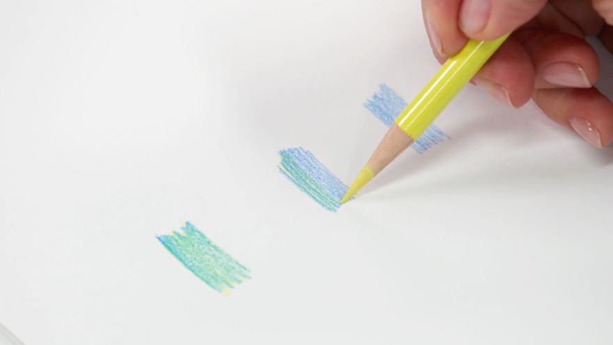 What You Need: Colored Pencils