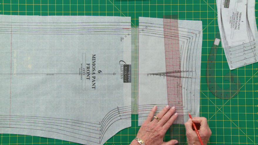 Adjusting Pants or Skirt Pattern