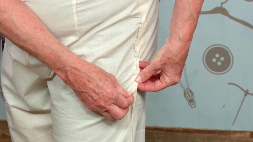 Making a Fitting Muslin: Pants or Skir