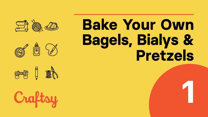 Bagels:  Mixing Dough
