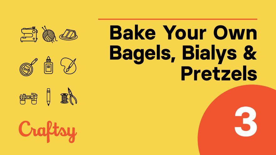 Bagels: Poaching, Topping & Baking
