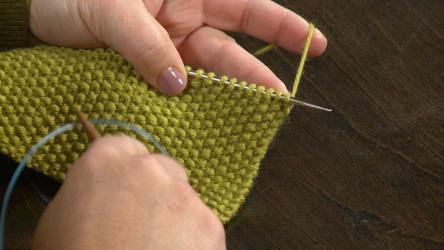 Time Savers: Using Knit & Purl Together