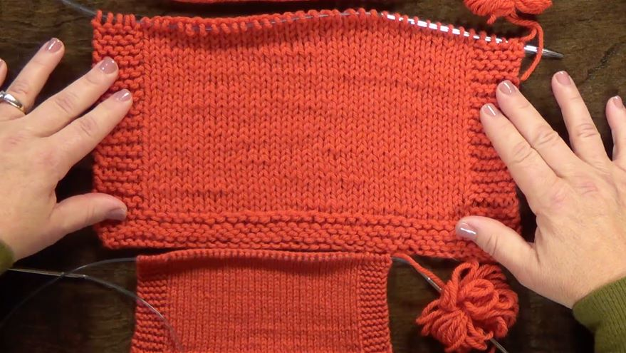 Module 3 - Lesson 3: Sizing Stitches for Even Knitting
