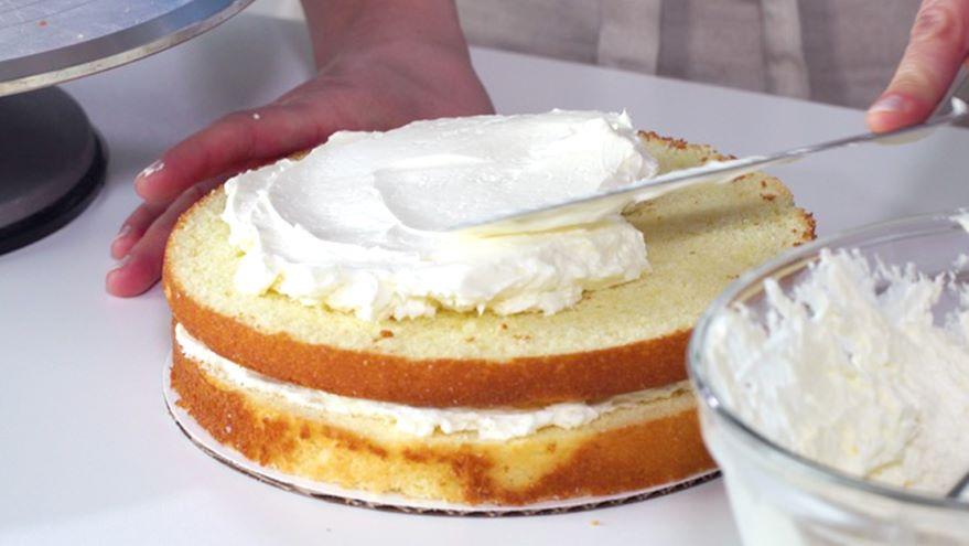 Constructing a Single-Tier Cake