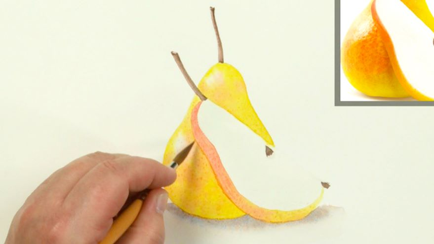Building Color & Completing the Pear