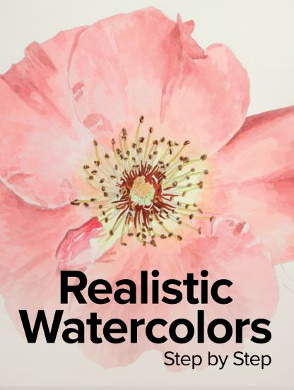 Realistic Watercolors Step by Step
