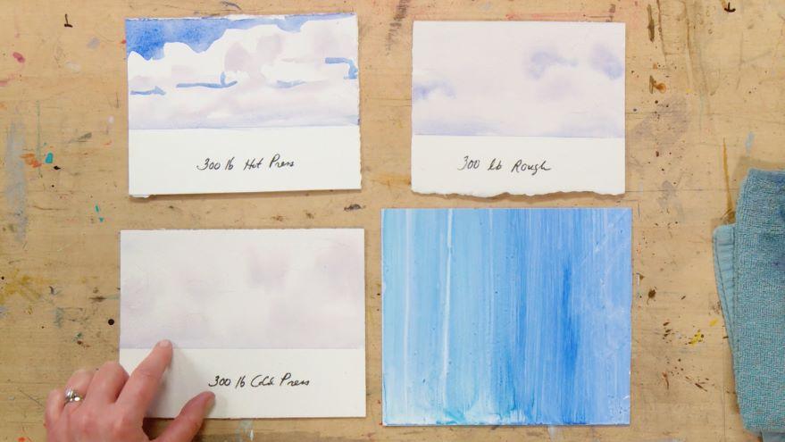 Brushes & Paper