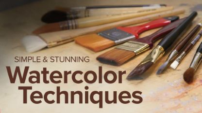 Simple and Stunning Watercolor Techniques