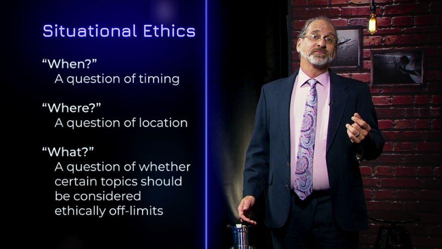 Situational Ethics and Humor