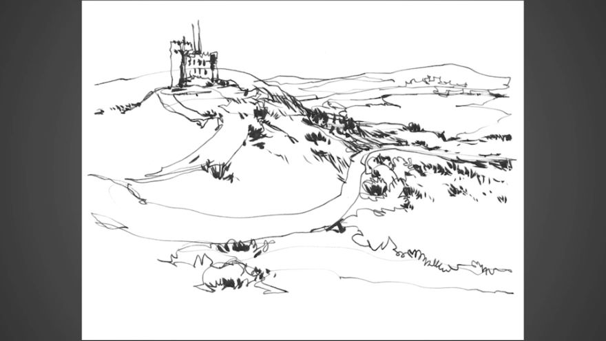 Module 3 Lesson 1: Single-Line Sketching