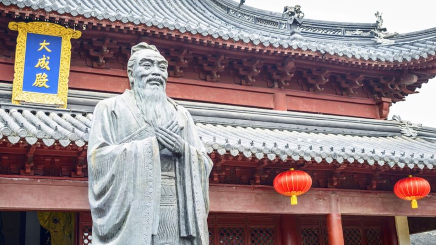 Confucius-Order in the Cosmos and in Life