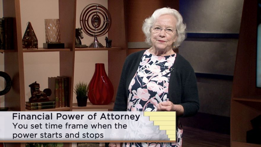 Creating a Financial Power of Attorney