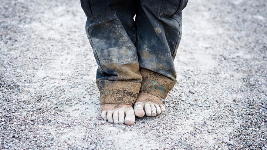 Half the World Left behind in Poverty