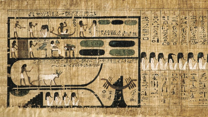 Abandoned Scriptures-Egyptian and Mayan