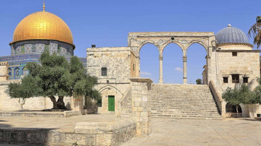 Sites of the Trial and Final Hours of Jesus