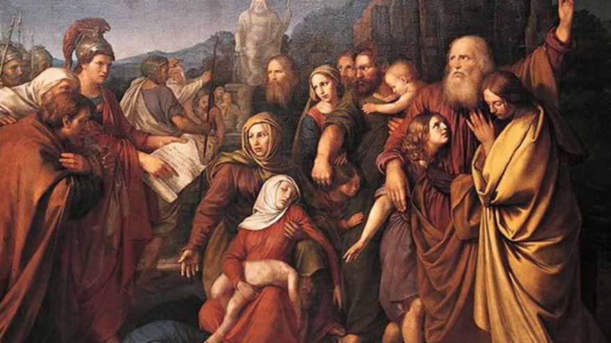 Desolating Sacrilege and the Maccabean Revolt